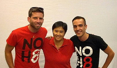 NOH8 Vegas Shmooze Photo