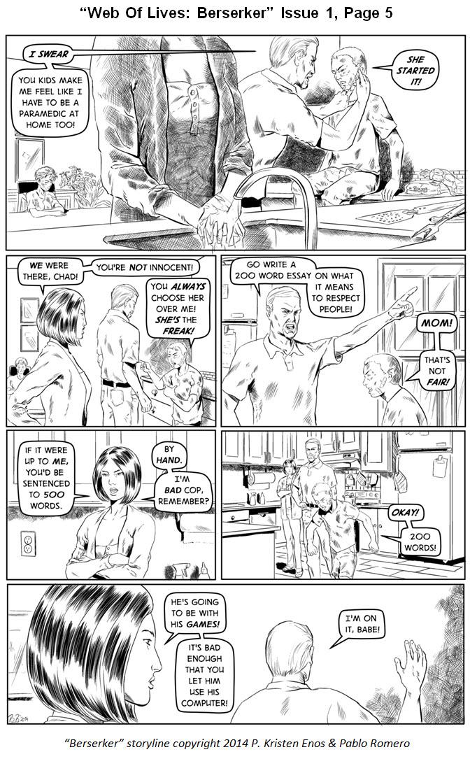 Berserker page 5