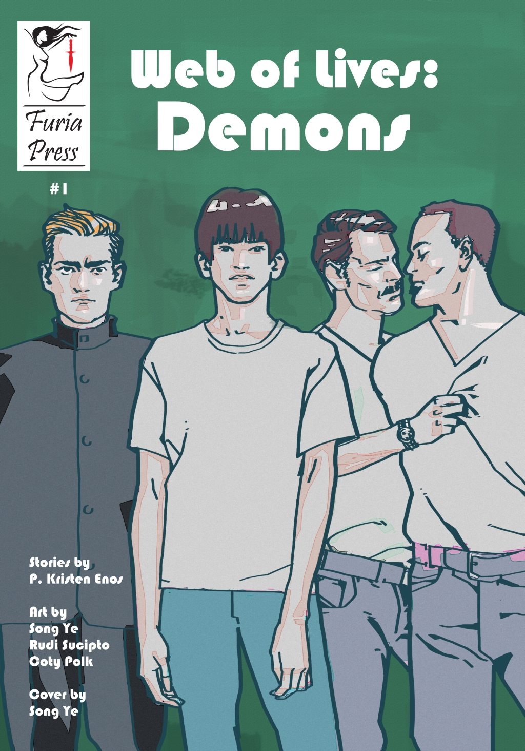 Demons Issue 1 Cover